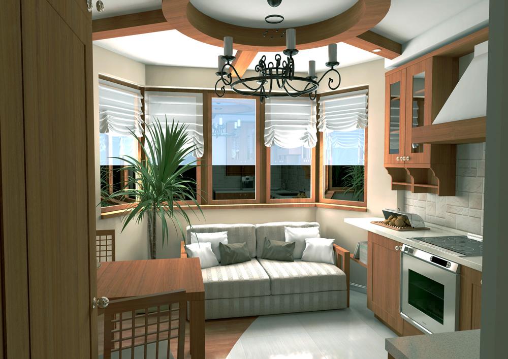 Дизайн проект квартир п-44т